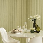 Archer green vertical blind