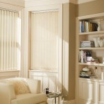 Aston cream vertical blind