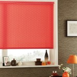 Constellation chilli valance roller blind