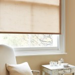 Dragonfly natural roller blind