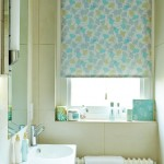 Gingko green roller blind