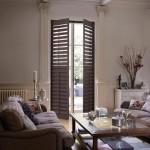 Grovewood old teak shutters