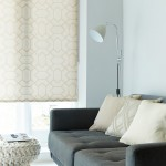 Leno Taupe Roller BLind