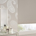 Macey taupe roller blind
