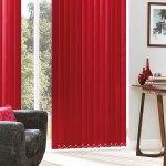 Memphis raspberry vertical blind