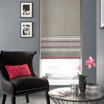 Normadic pink fuchsia loop braid roller blind