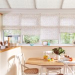 Flowery Pleated Blinds