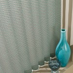 Salsa teal vertical blind
