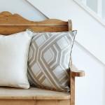 Samba taupe cushions