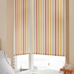 Seismic orange roller blind