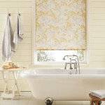 Silhouette mimosa roller blind