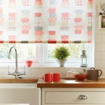 Time for tea poppy roller blind