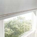 acacia dawn grey roller blind silver sequin braid