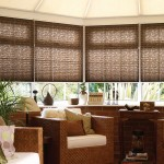 albany chocolate paris beige pleated blinds