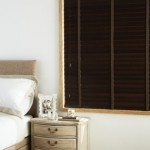 arena wv dark walnut venetian blind with tape
