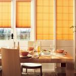capri terracotta pleated blinds