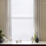 geisha white pleated blind