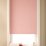 itsy pink blackout roller blind