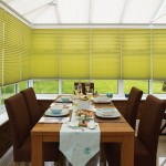 metropol olive pleated blinds