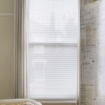 obsession white pleated blind