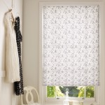 sapota monochrome pleated blinds