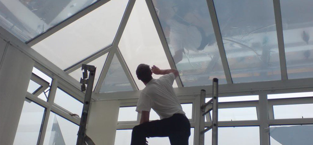 Conservatory tinting