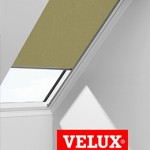Green velux blind