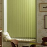 Green Vertical Blind
