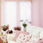 Pink vertical blind